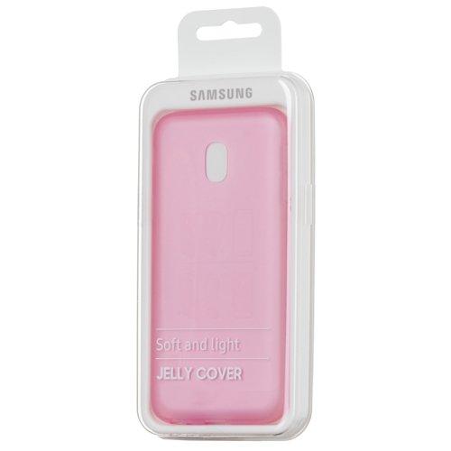 Samsung Jelly Cover żelowe etui pokrowiec Samsung Galaxy J7 2017 J730 różowy